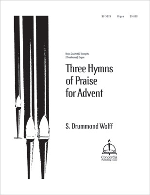 three hymns of praise for advent. Black Bedroom Furniture Sets. Home Design Ideas