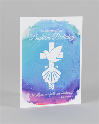 Baptism birthday card set of 6 bookmarktalkfo Choice Image