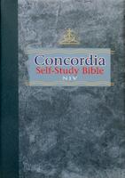 NIV Concordia Self-Study Bible - Hardback
