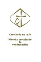 Ritual y certificado de confirmación (Confirmation certificate Ritual) Pack of 10