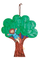 Cartel para puerta Zaqueo (Zacchaeus Door Hanger) (Pack of 12)