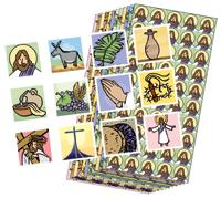 Journey to the Cross Passport Stickers