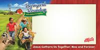 Barnyard Roundup Indoor/Outdoor Banner (8' x 4') - VBS 2016