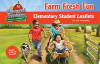 Farm Fresh Fun Elementary Leaflets  - VBS 2016