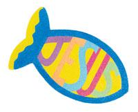 Jesus Fish Sandart (Craft, Pack of 12) - VBS 2016