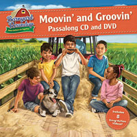 Moovin' and Groovin' Passalong CD & DVD - VBS 2016