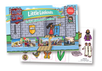 Little Lookouts Early Childhood Leaflets and Stickers - VBS 2017