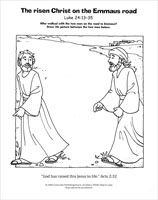 A Living Hope Coloring Page