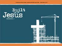 Built up in jesus powerpoint template downloadable toneelgroepblik Images