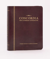 Concordia: The Lutheran Confessions-A Readers Edition of the Book of Concord - 2nd ed Genuine Leather