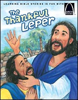 the thankful leper arch book