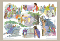 Holy Week Bulletin Board