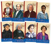 Hero of the Faith Biography Set (8 books)