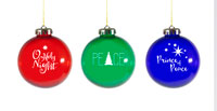 Christmas Ornaments (Set of 3)
