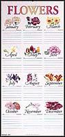 """Flower Chart (15"""" x 31"""")"""