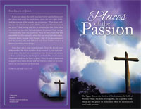 Standard Lent Bulletin: Places of the Passion