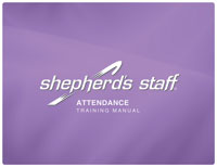 Shepherd's Staff Training Manual - Attendance