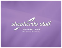Shepherd's Staff Training Manual - Contributions