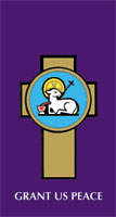 Grant Us Peace Lenten Banner 3' x 6'