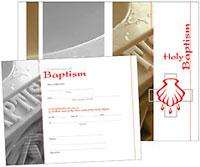 LSB Baptism Certificates (Pack of 10)