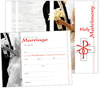 LSB Marriage Certificates (Pack of 10)