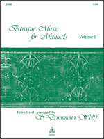 Baroque Music for Manuals, Vol. II