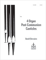4 Organ Post-Communion Canticles