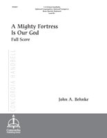 A Mighty Fortress Is Our God (Full Score) (Behnke)