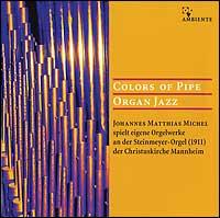 Colors of Pipe Organ Jazz (CD)