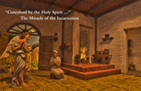 The Miracle of the Incarnation - An Annunciation Bulletin Insert