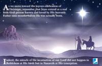 The Joy of Christmas Bulletin Insert