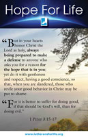 Hope for Life - A Bulletin Insert for Life Sunday