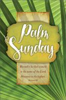 Standard Palm Sunday Bulletin: Palm Sunday