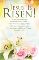 Standard Easter Bulletin: Jesus is Risen