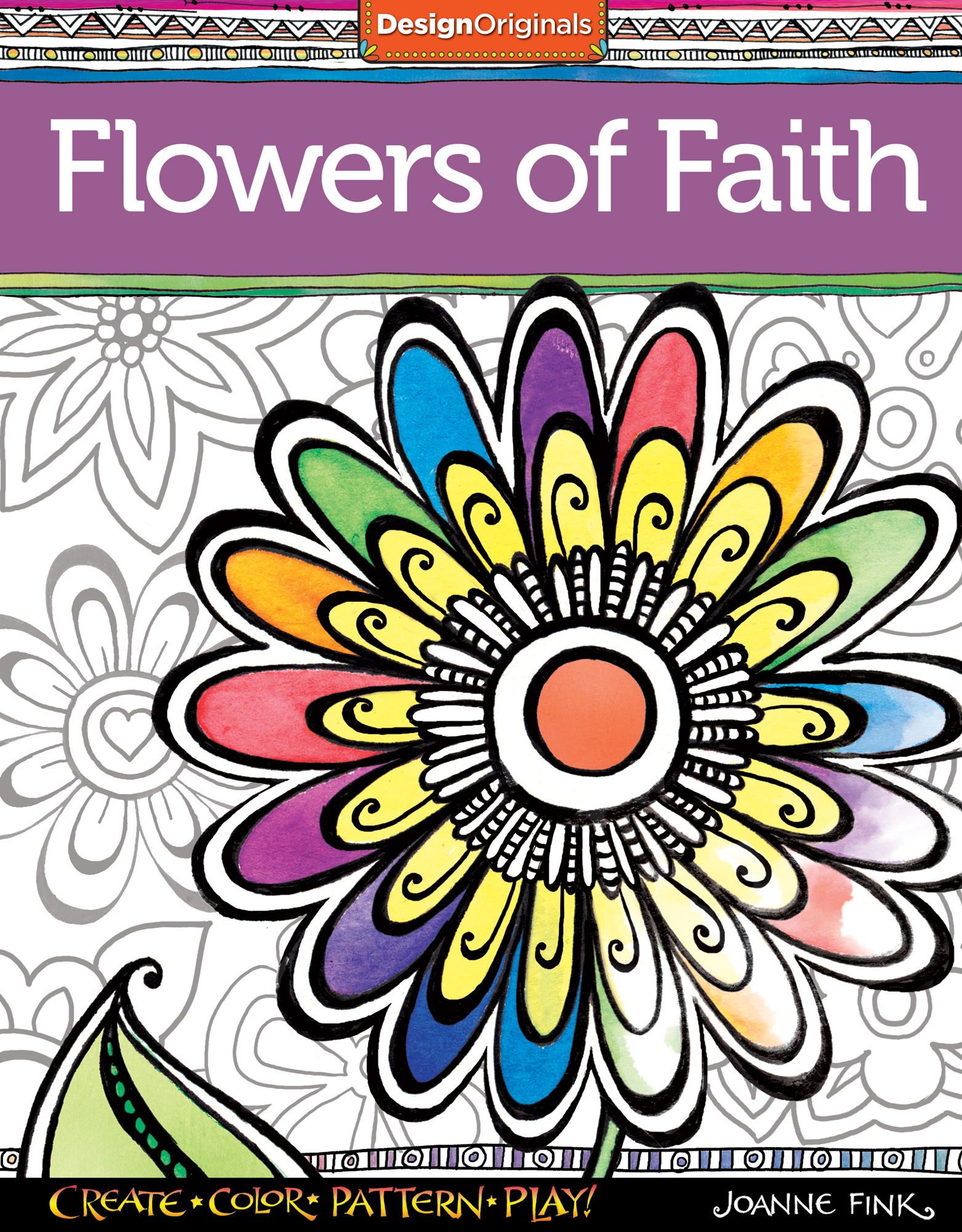 - Flowers Of Faith Coloring Book