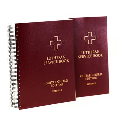 Lutheran Service Book Guitar Chord Edition