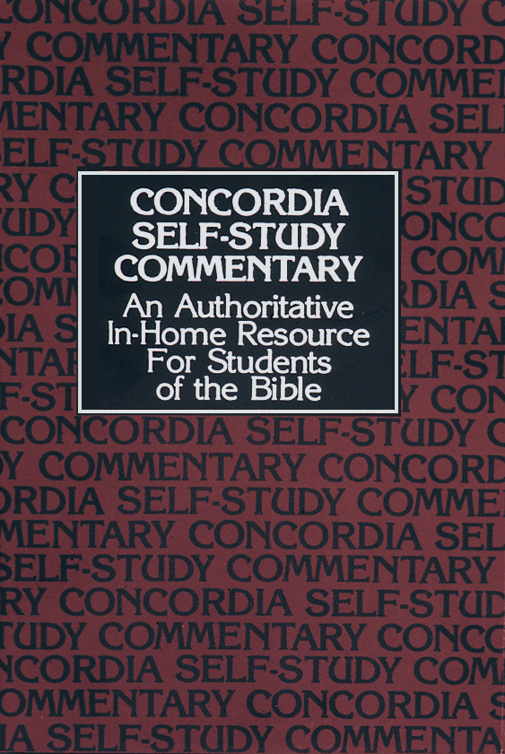 Concordia Self-Study Bible NIV