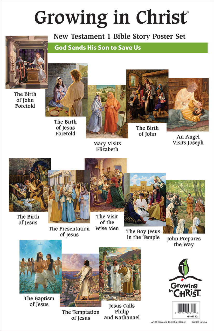 Bible Story Poster Set 5: New Testament
