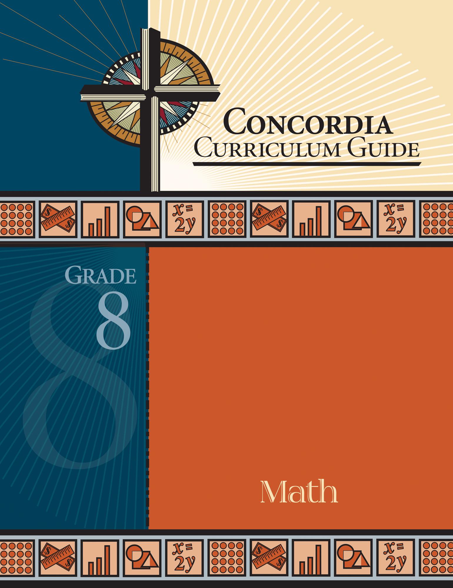 Concordia Curriculum Guide - Grade 8 Math