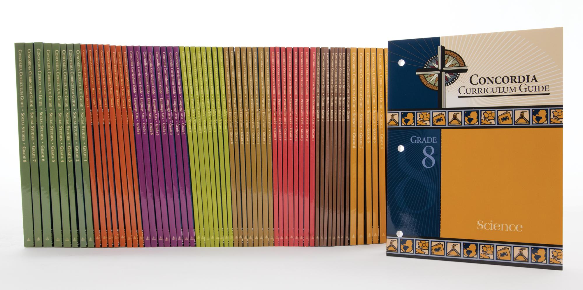 Concordia Curriculum Guide:L Grades 1-8 All Subject Set
