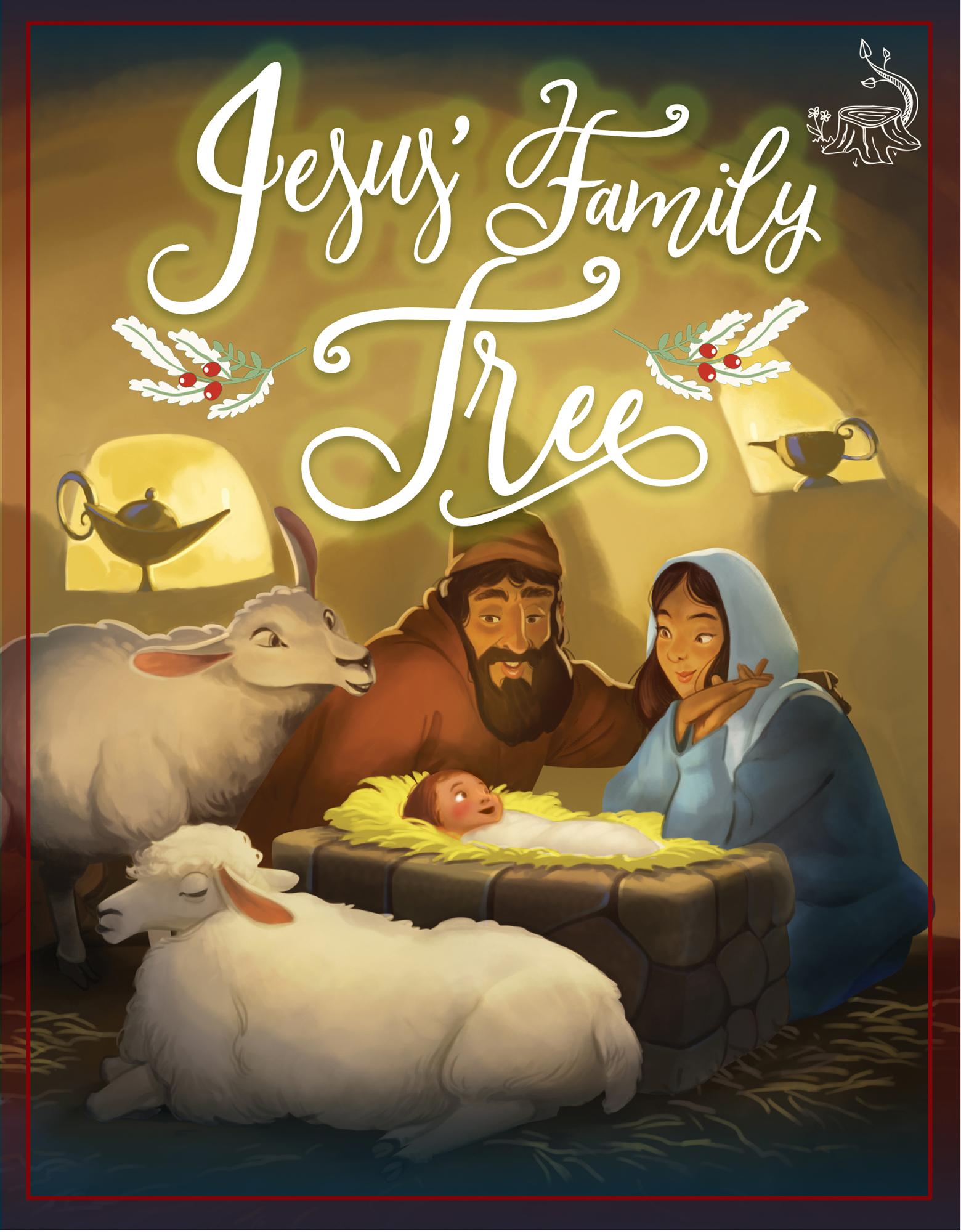 Jesse Tree Jesus Family Tree