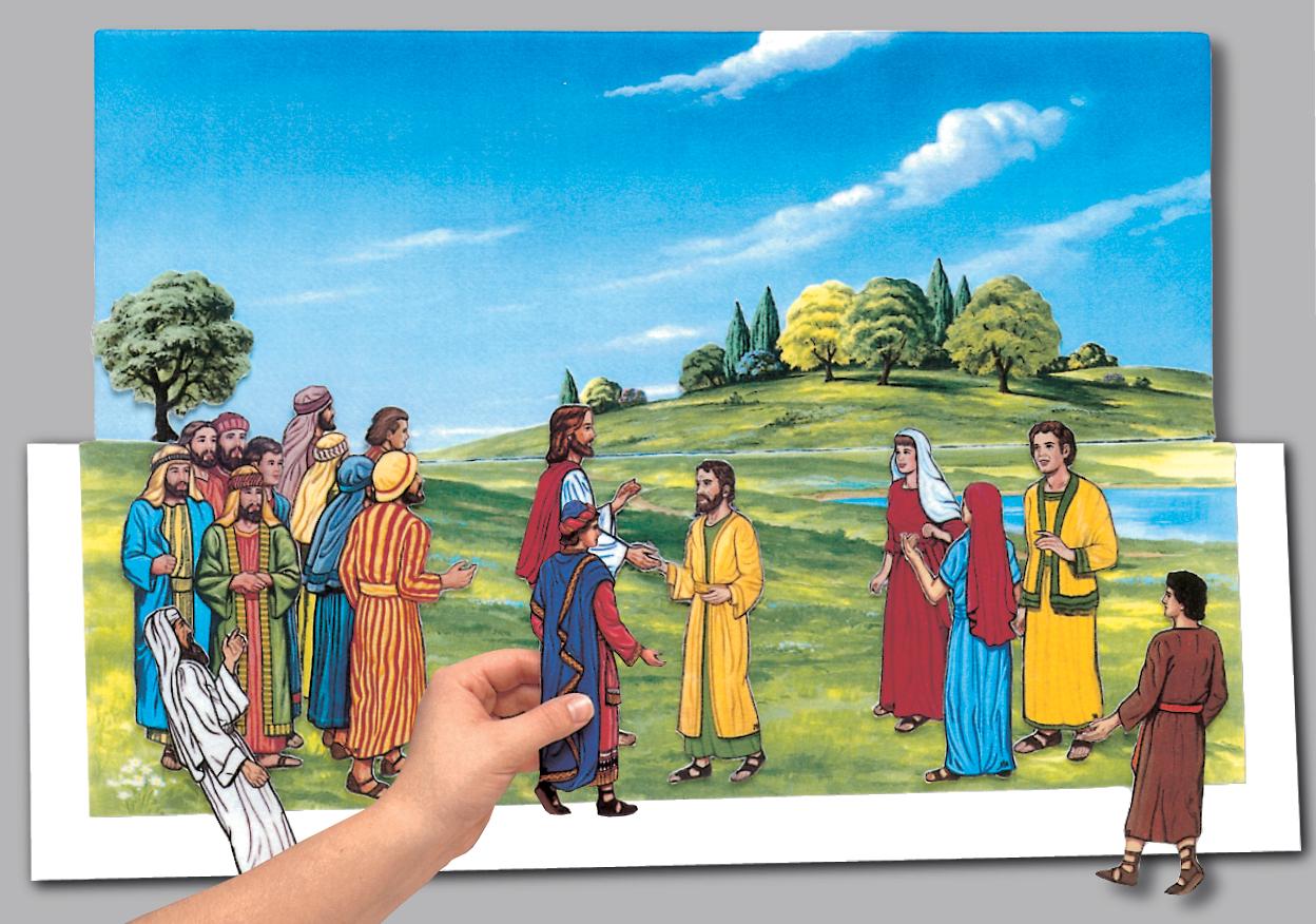 Story of Jesus Flannelgraph