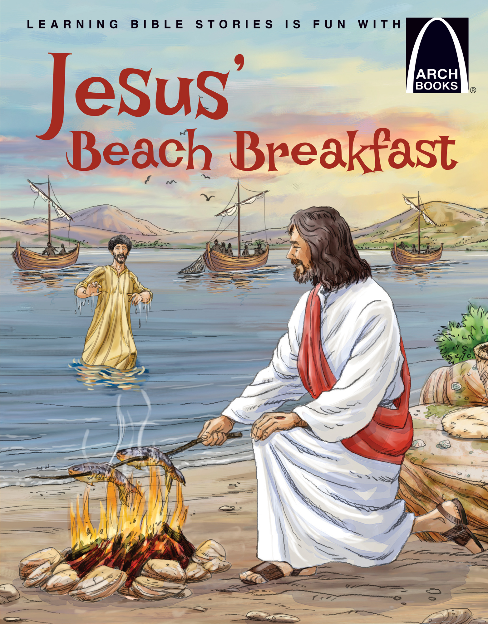 Jesus Beach Breakfast Arch Books