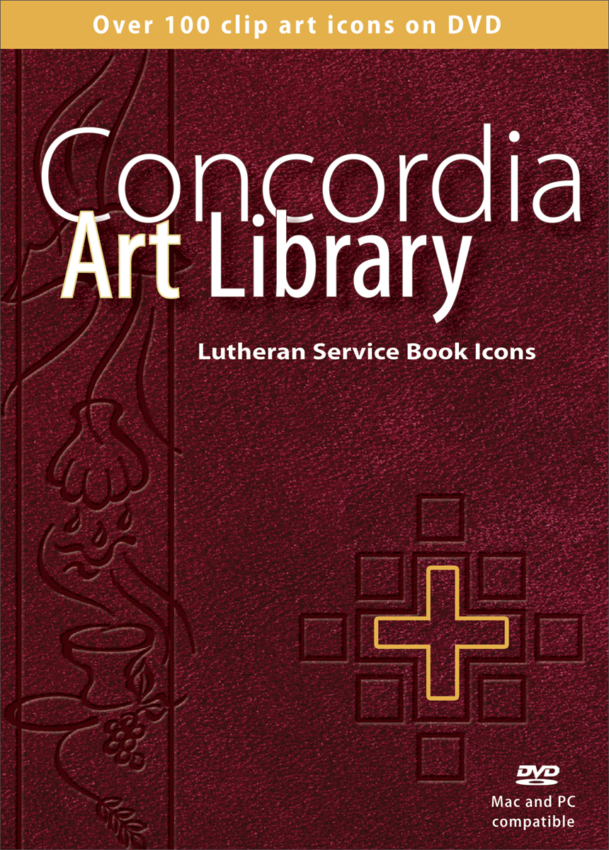 Concordia Art Library: DVD Lutheran Service Book Icons