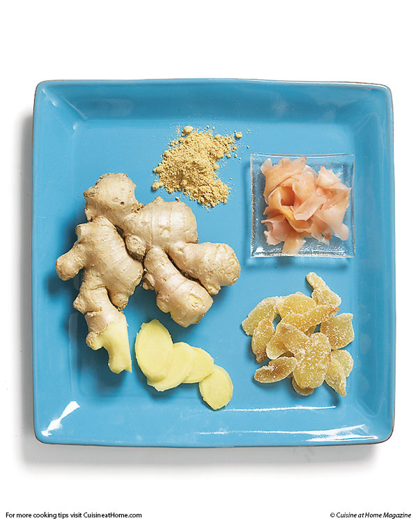 how to prepare and use fresh ginger