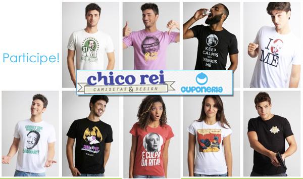 1 ano de Cuponeria: Concorra a uma camiseta IRADA da Chico Rei!