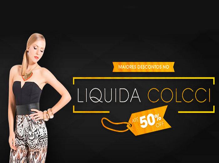 Liquida Colcci: peças com até 50% de desconto!