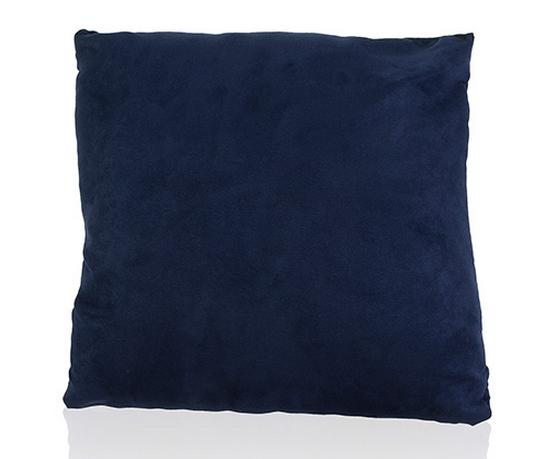 Almofada Suede Toscana Azul Marinho 45x45cm