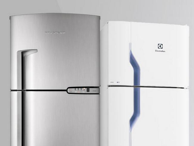 Refrigeradores com até 15% de desconto!