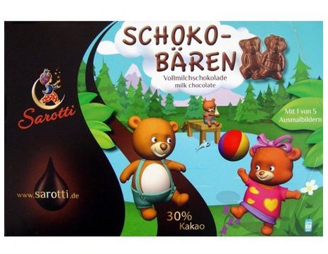 Sarotti - Ursinhos De Chocolate Ao Leite 100g!